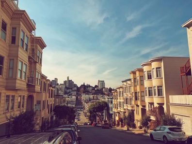 Walking the showy streets of San Fran