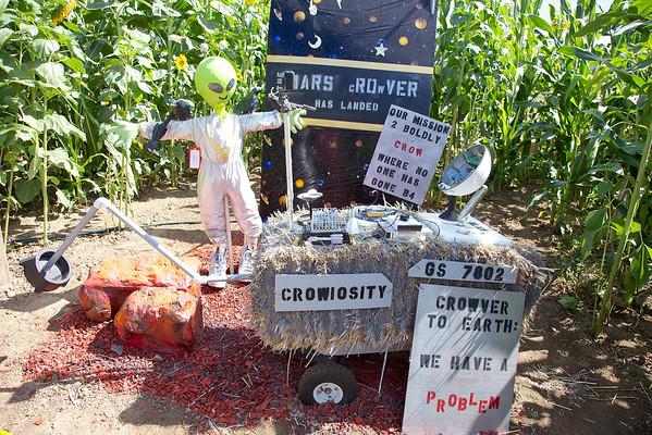 NASA scarcrow