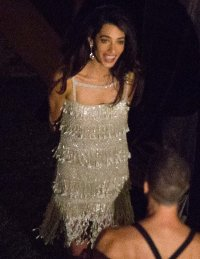 Amal Alamuddin VOGUE profile and wedding dress change