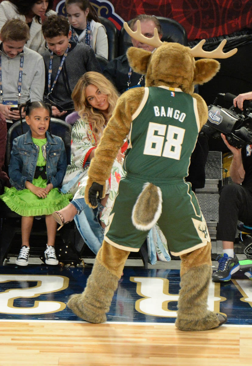 Beyonc Jay Z And Blue Ivy In New Orleans At The NBA All