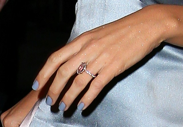 Blake Lively shows off engagement ring in wrinkled Chanel