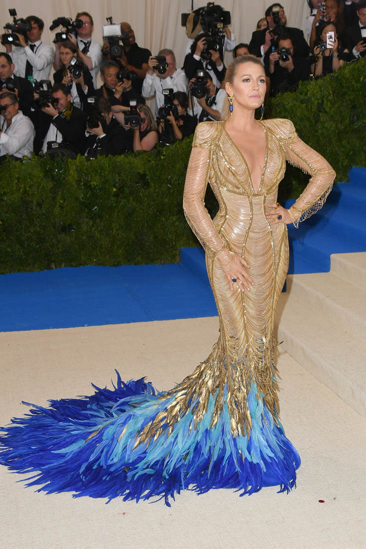 Most Interesting Part Of Blake Livelys MET Gala Dress Not
