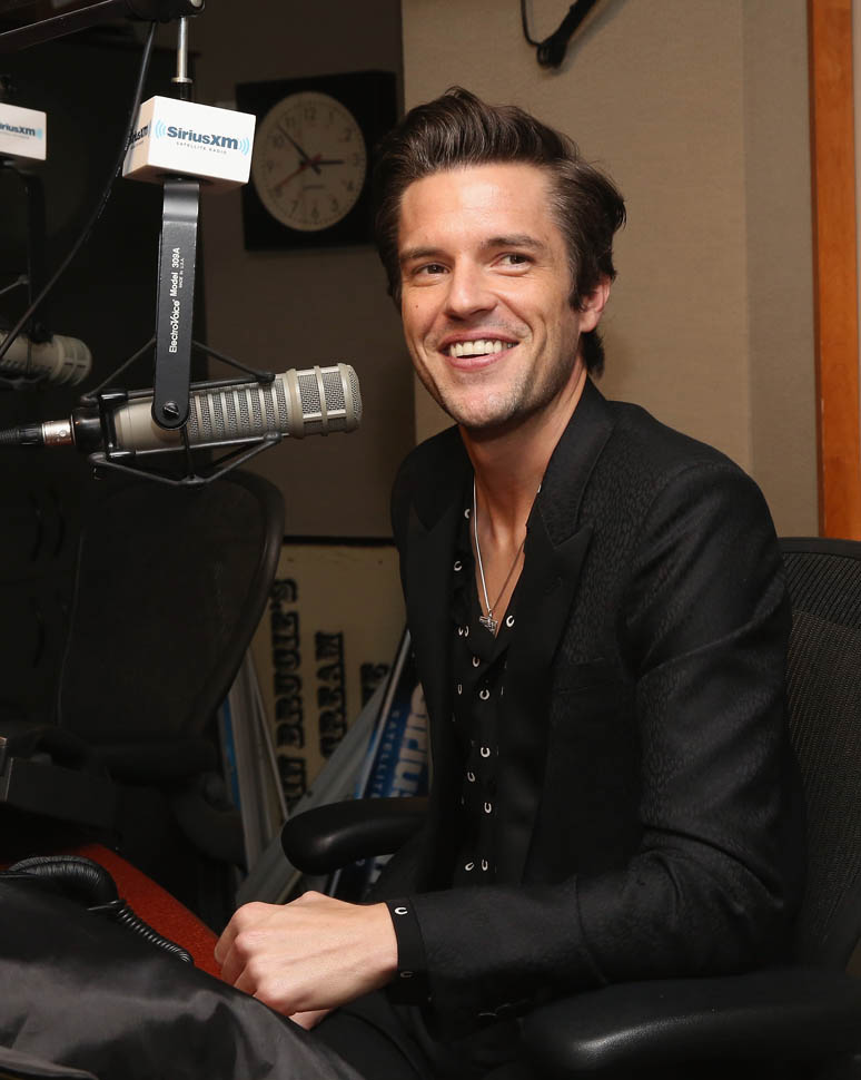Brandon Flowers Promoting New Album To Be Released In May