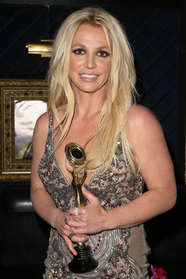 Britney Spears' Fantasy In Bloom Named Fragrance Of Year Hollywood Beauty Awards