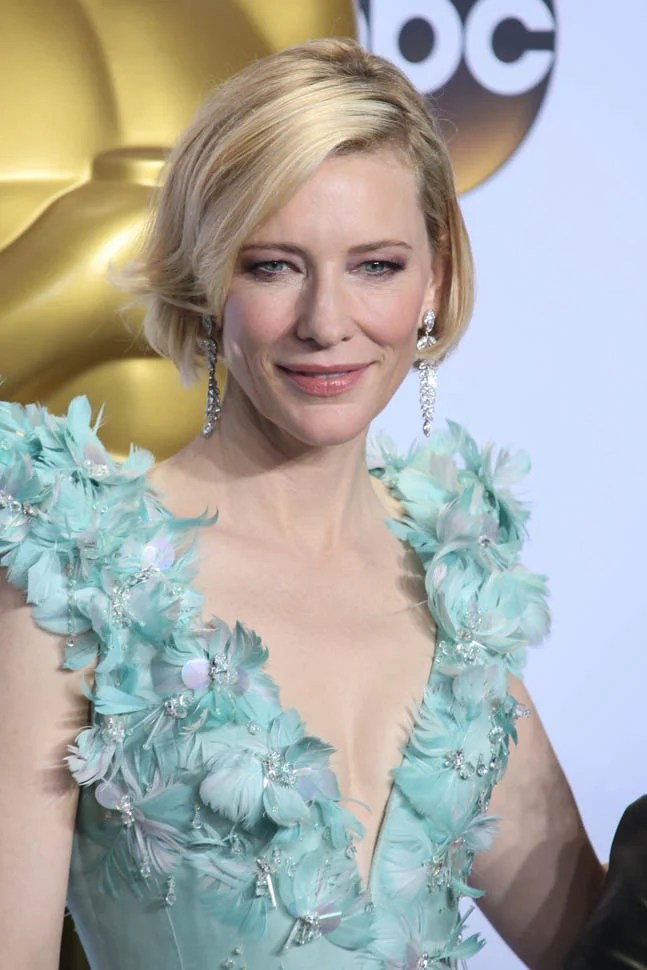 Cate Blanchett Is Ageless At The 2016 Academy Awards