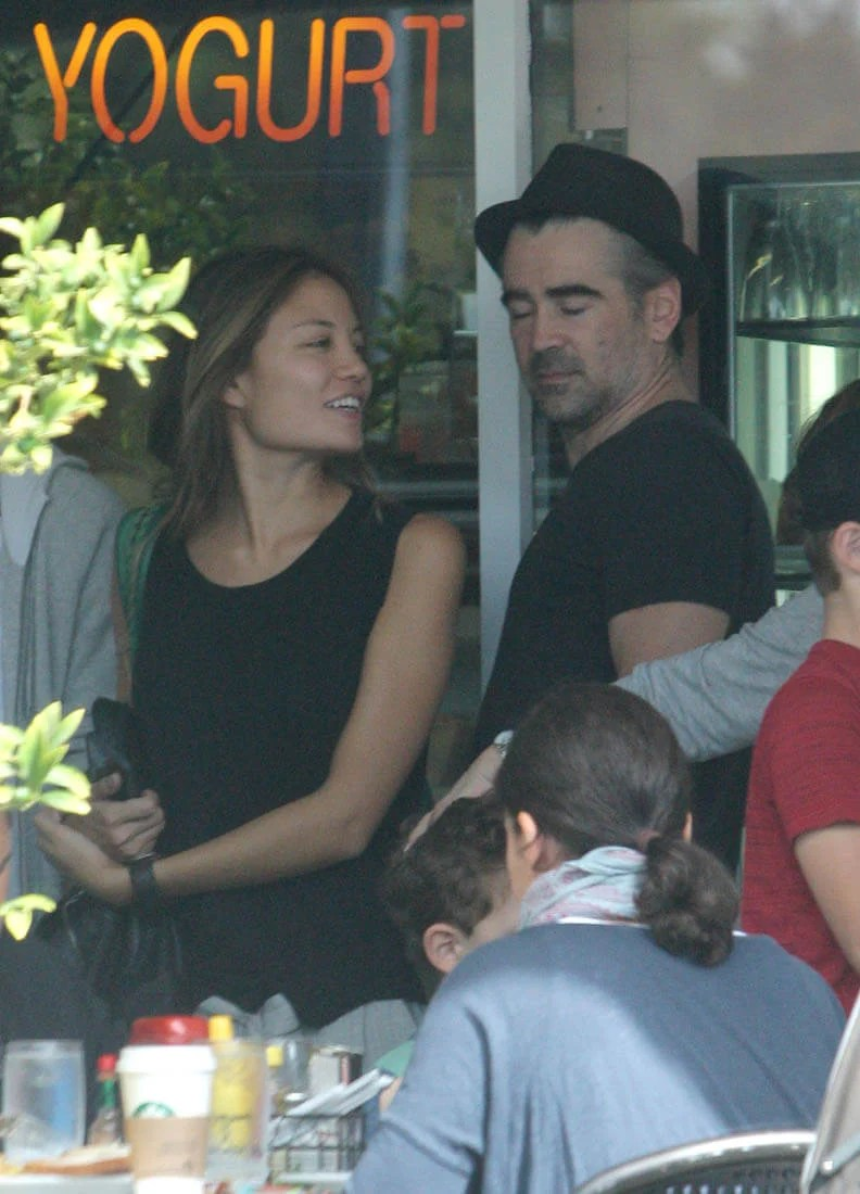Colin Farrell out in LA with his girlfriend almost a year after they were first photographed
