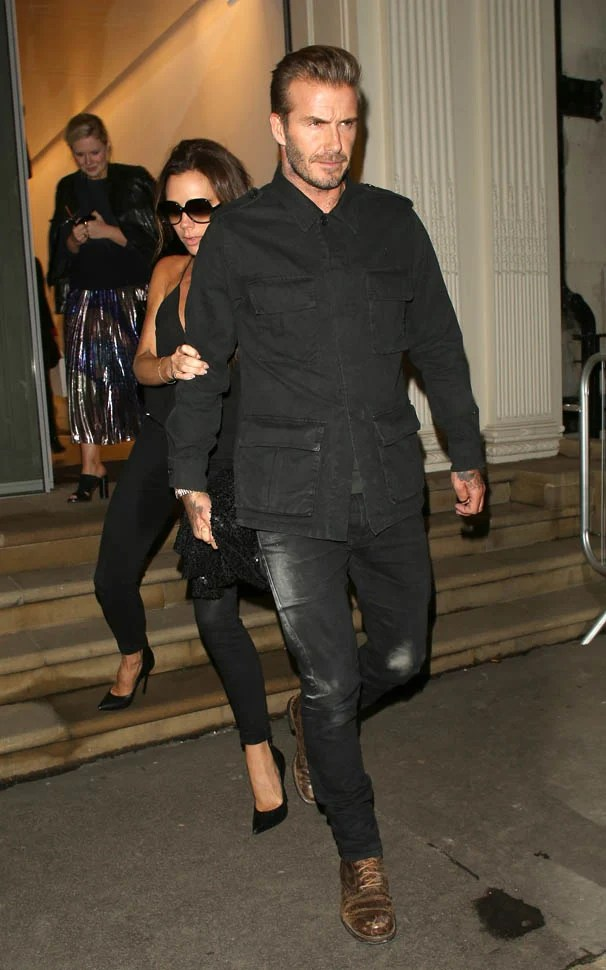 David And Victoria Beckham Celebrate Her Flagship Store