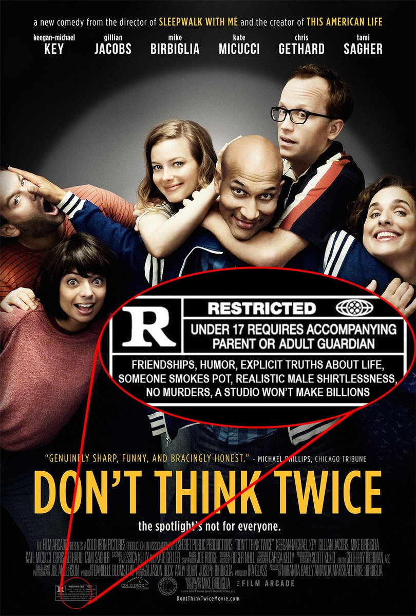 Image result for don't think twice movie poster