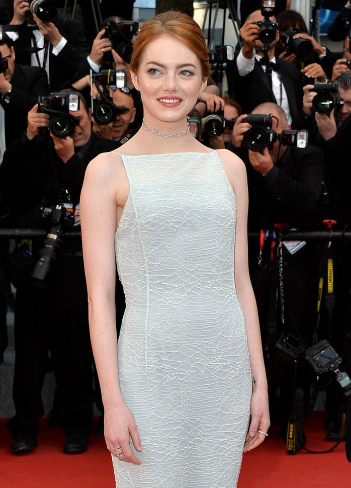 Emma Stone at the Cannes premiere of Irrational ManLainey