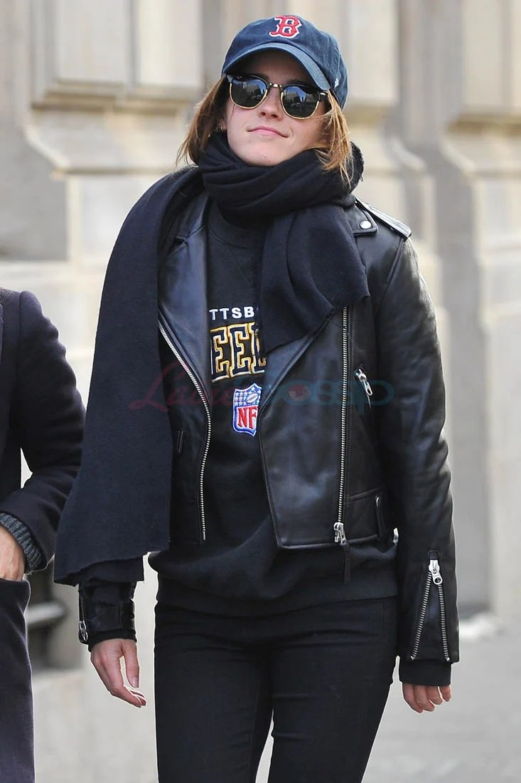 Lowkey Emma Watson seen in Paris with a friend