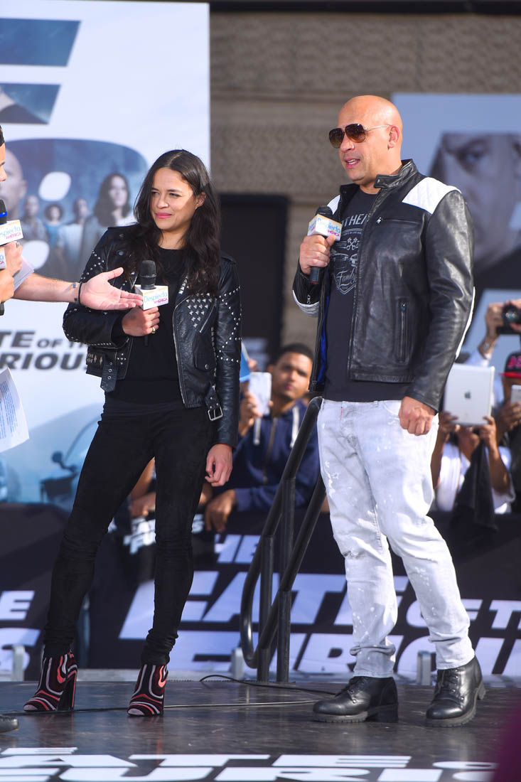 The Fate of the Furious movie review starring Vin Diesel The Rock Michelle Rodriguez Charlize Theron