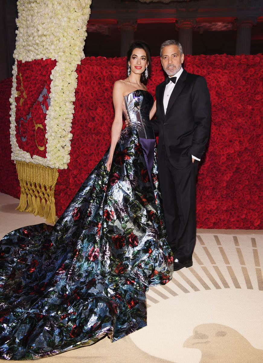 Amal Clooney is the 2018 Best Met Theme Twist