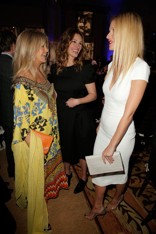 Gwyneth Paltrow And Chris Martins Golden Globe Weekend