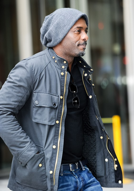New father Idris Elba steps out for the first timeLainey Gossip Entertainment Update