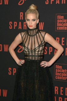 Drunk Jennifer Lawrence Promotes Red Sparrow Late