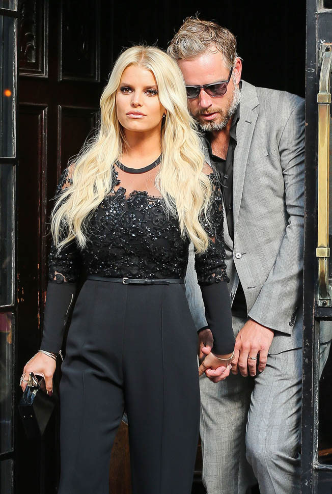 Jessica Simpson heads to The Tonight Show with Jimmy Fallon to promote 10th anniversary of the