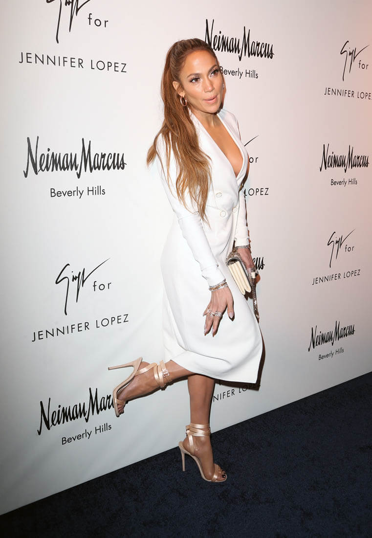 Jennifer Lopez Presents Capsule Shoe Collection With
