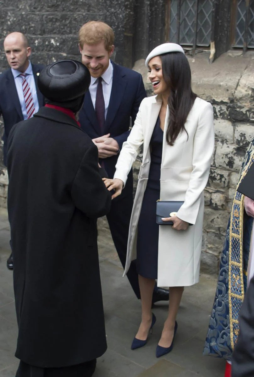 Prince Harry Makes Meghan Markle Giggle In Church