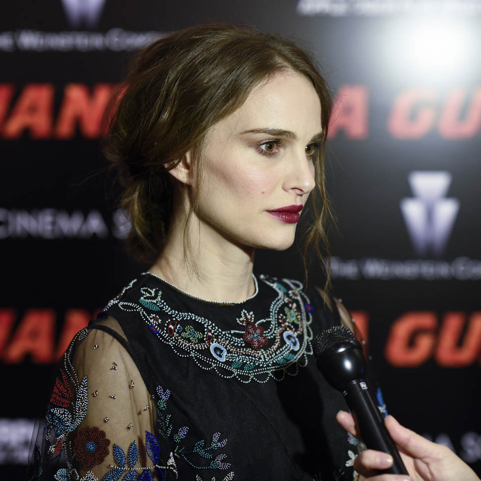 Natalie Portman Promotes Jane Got A Gun And Various New