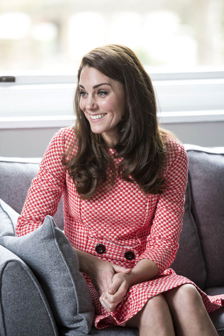 Princess Catherine meets with support group for parents