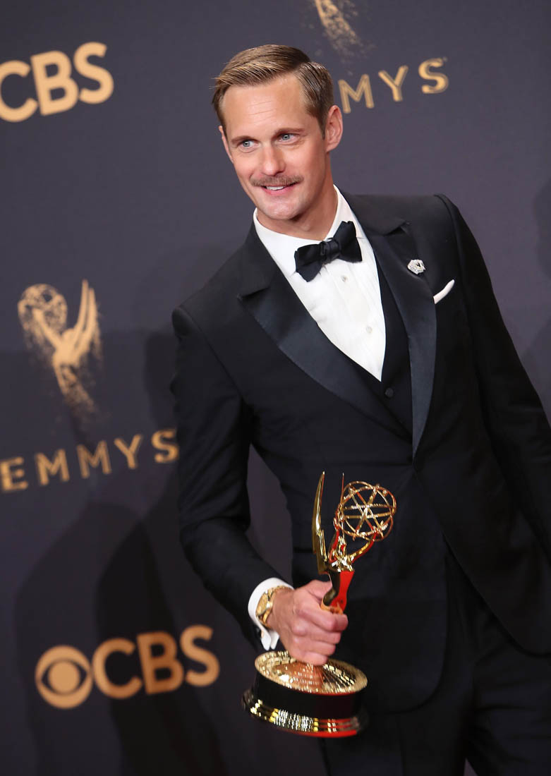 Image result for alex skarsgard emmys 2017