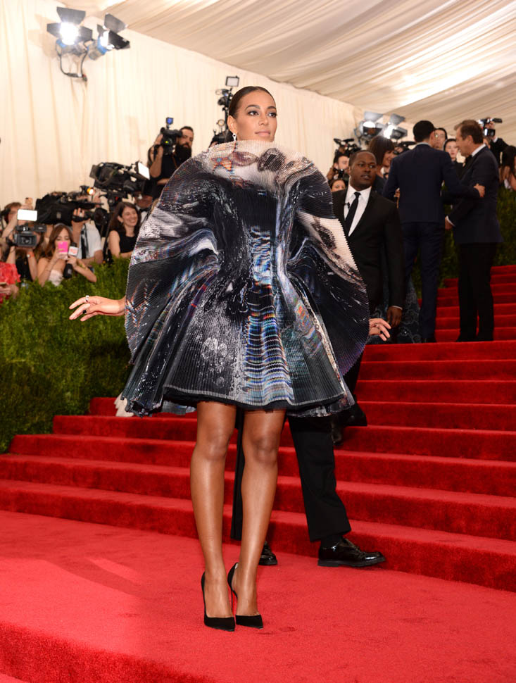 Solange Knowles at the 2015 MET GalaLainey Gossip