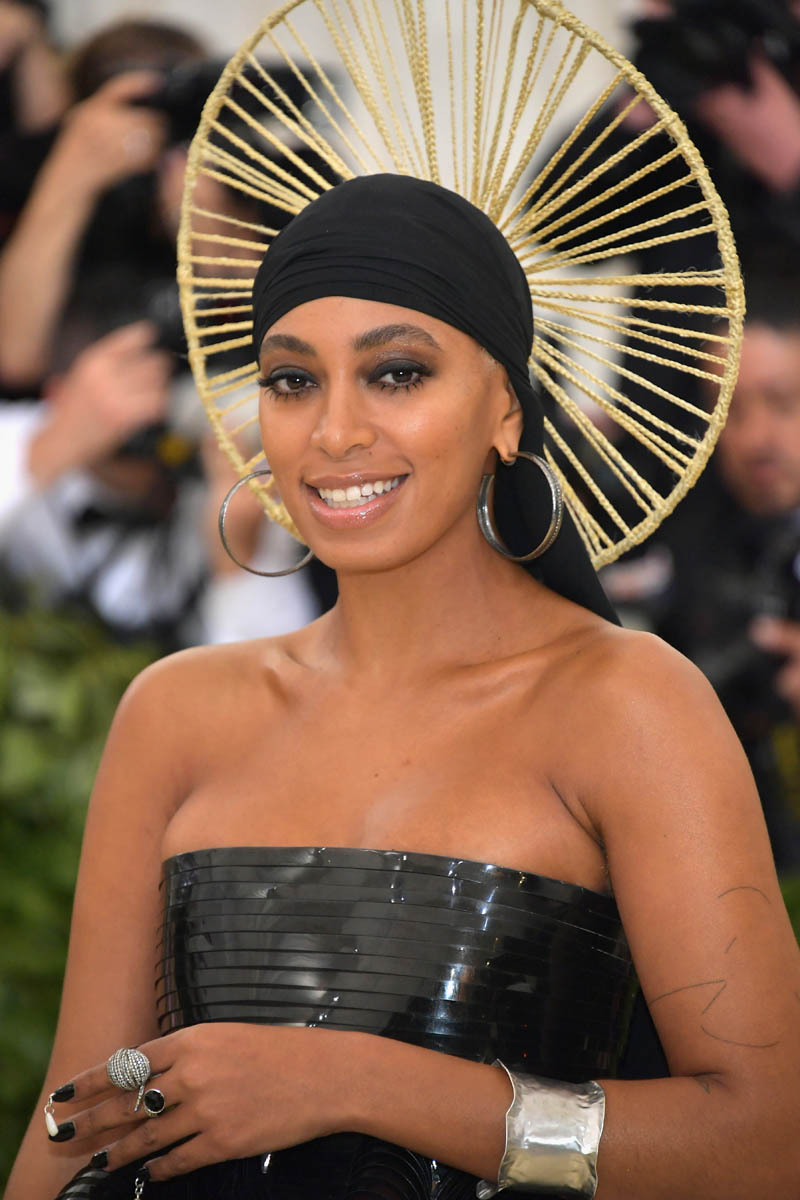 Solanges Durag was the best 2018 Met accessory