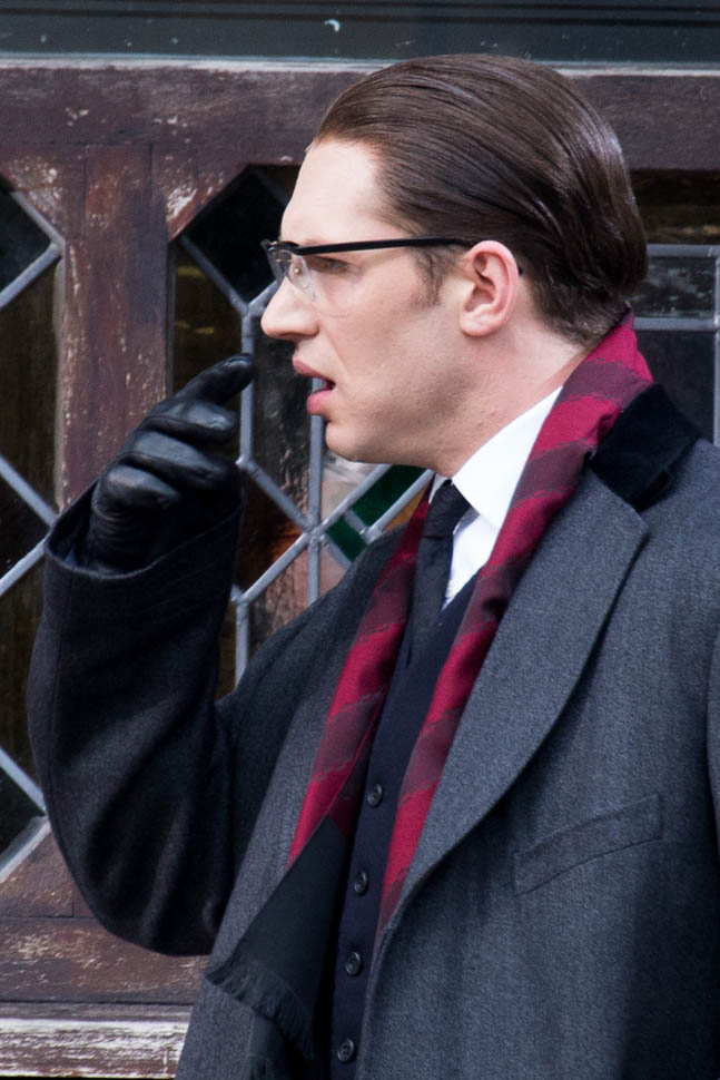 Tom Hardy could be Frank Farmer in The BodyguardLainey