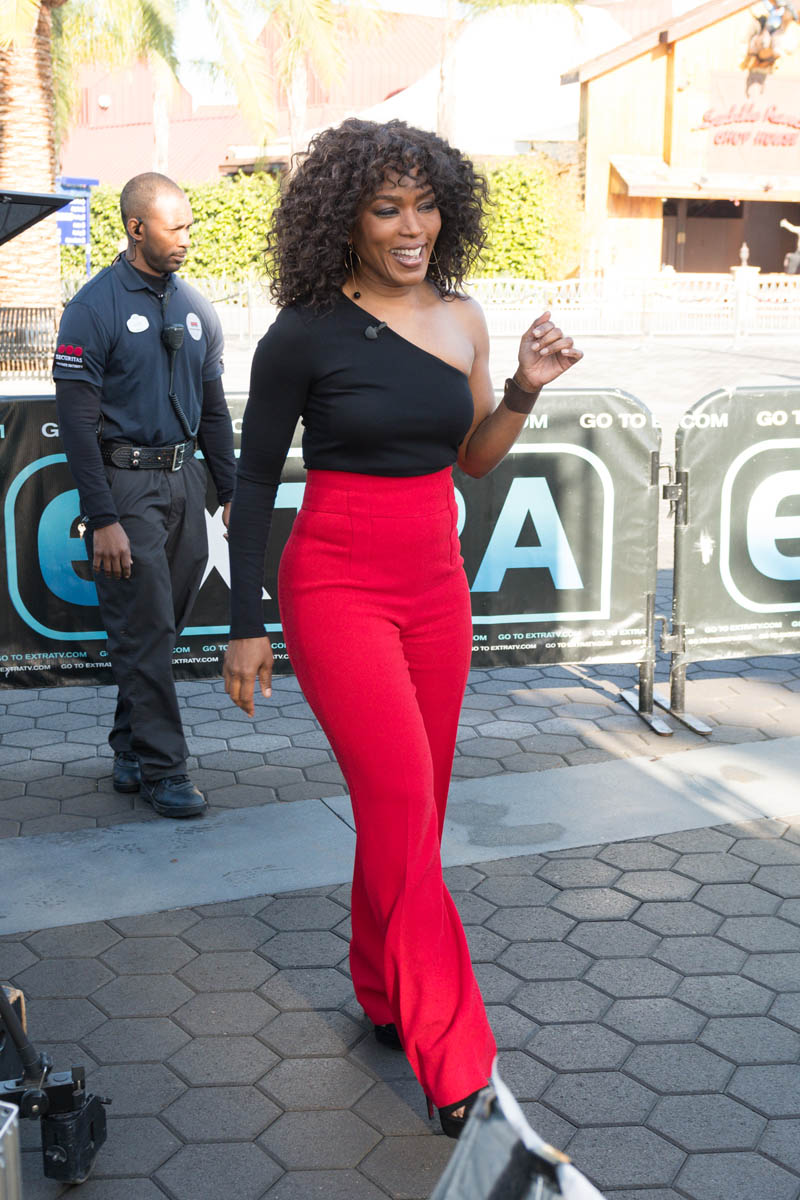 Angela Bassett in red pantsLainey Gossip Lifestyle