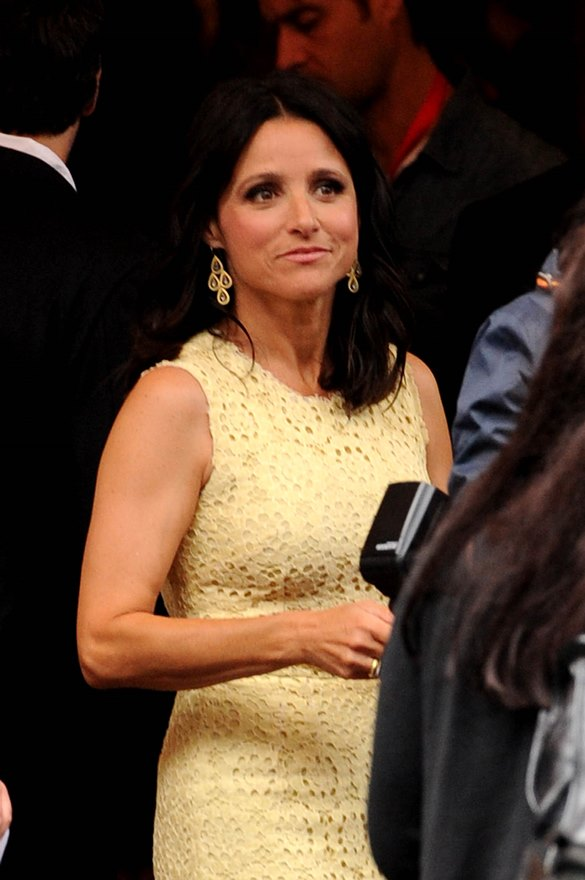 Julia LouisDreyfus attends the premiere of Enough Said at TIFF 2013Lainey Gossip Lifestyle