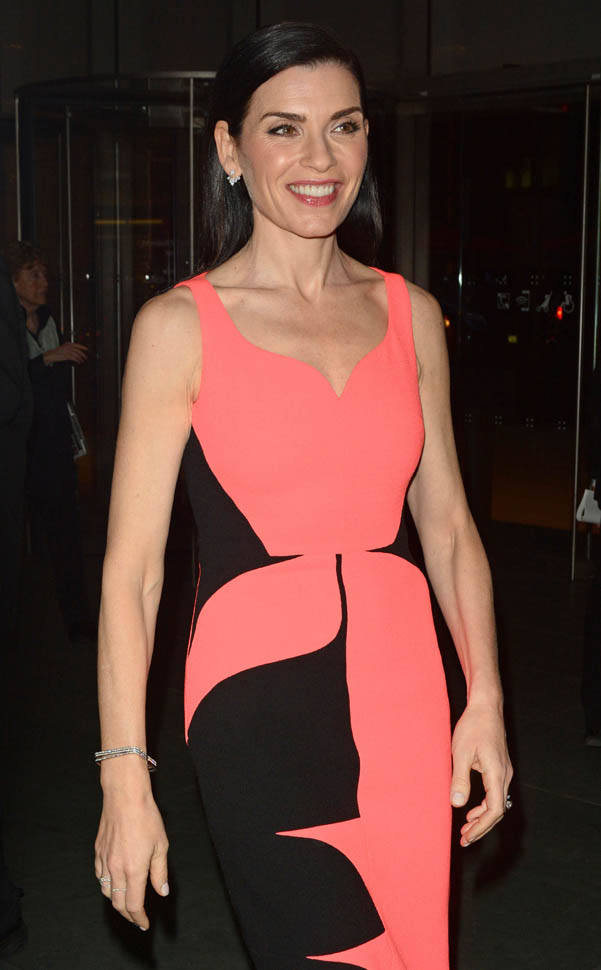 Julianna Margulies in pinkLainey Gossip Lifestyle