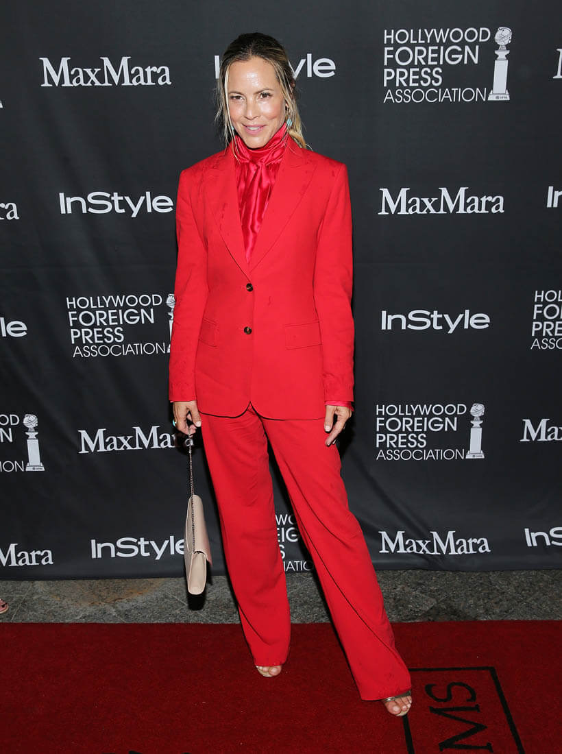 Maria Bellos TIFF red on red on redLainey Gossip Lifestyle
