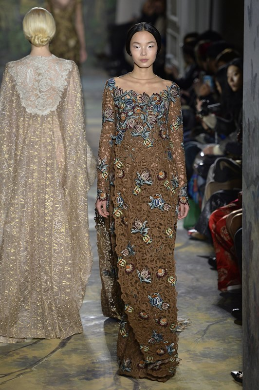 Paris Fashion Week Valentino Haute Couture SS 2014