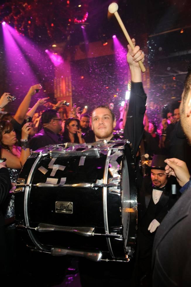 Jay-Z Hosts Party at Tao