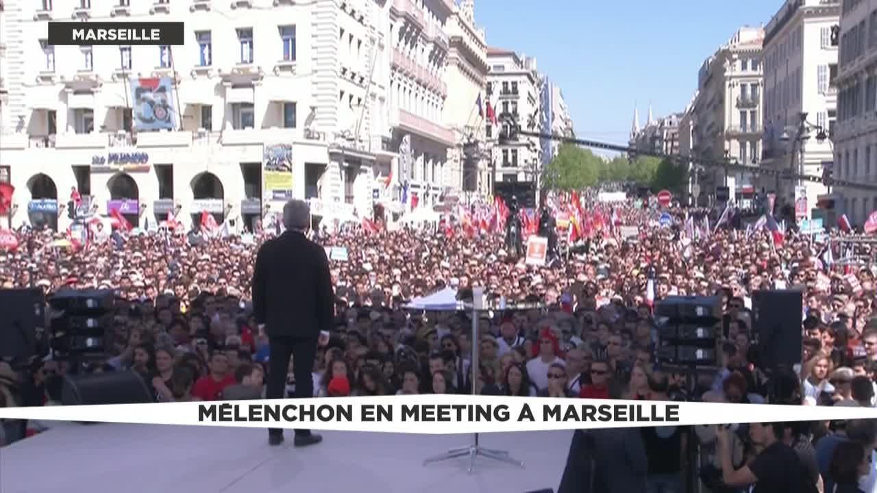 """Résultat de recherche d'images pour """"meeting de melenchon à Marseille 2017"""""""