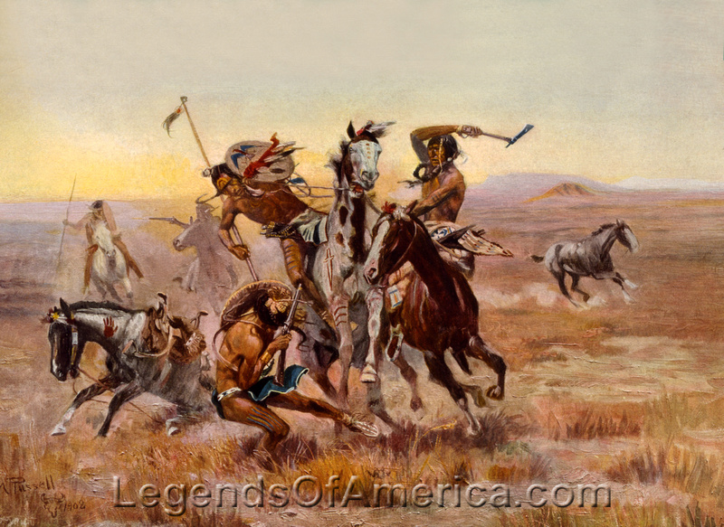 Sioux Falls Wallpaper Legends Of America Photo Prints Indian Wars When The