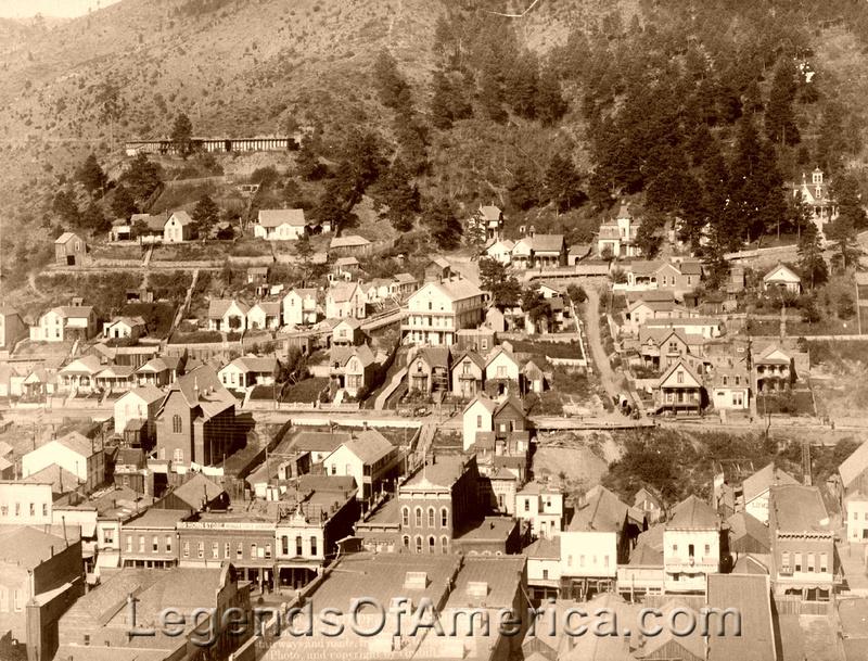 Legends of America Photo Prints  South Dakota  Deadwood
