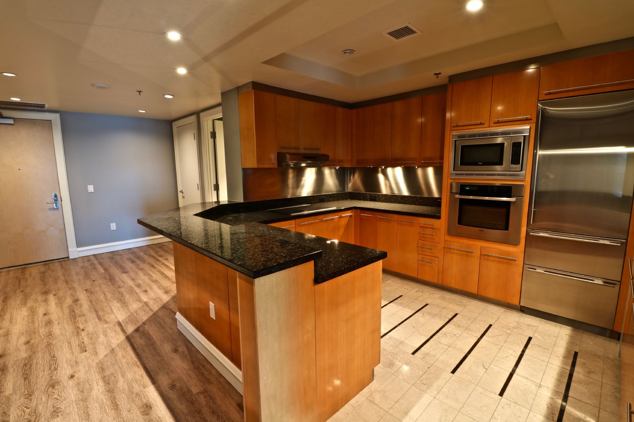 kitchen countertops las vegas design ideas images view luxury high rise rentals listed by the