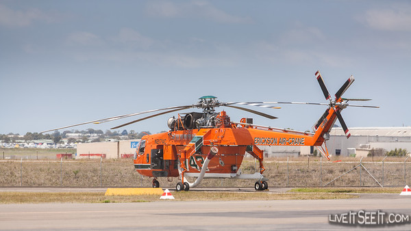Helitac 743 'Malcolm'Ericson Air-Crane in NSW for the 2012/13 Bushfire season with NSW Rural Fire Service