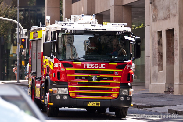 FRNSW Rescue Pump 1A new appliance - both the truck and the assignment, for City of Sydney Station. This will be a 3rd call pump and 2nd call Rescue appliance.