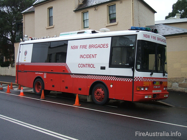 NSWFB Incident Control VehicleNSWFB Incident Control Vehicle at Glebe Open Day April 2007