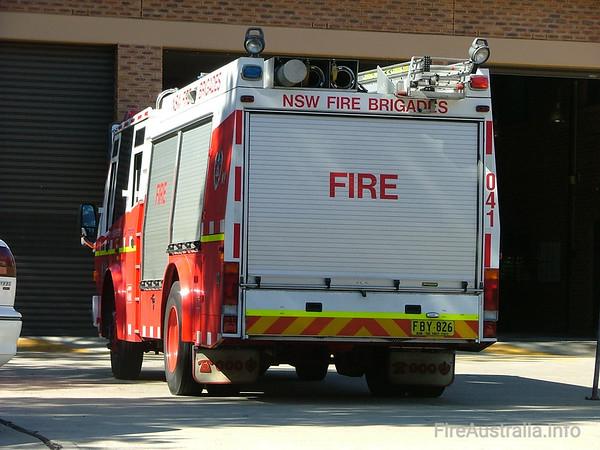 NSWFB SP41 SmithfieldApril 2006Fuji