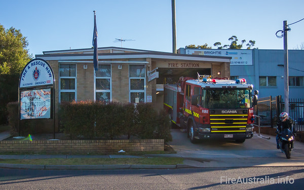 MFB Pumper stationed at 19 Silverwater Fire Station