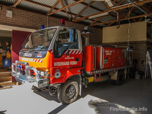 Wisemans Ferry RFB Cat 7 Tanker, built by Kuipers Engineering. The Hills DistrictSeptember 2013