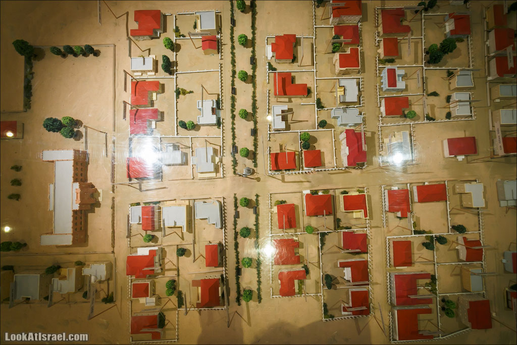 История Тель-Авива в башне Шалом   LookAtIsrael.com - Фото путешествия по Израилю