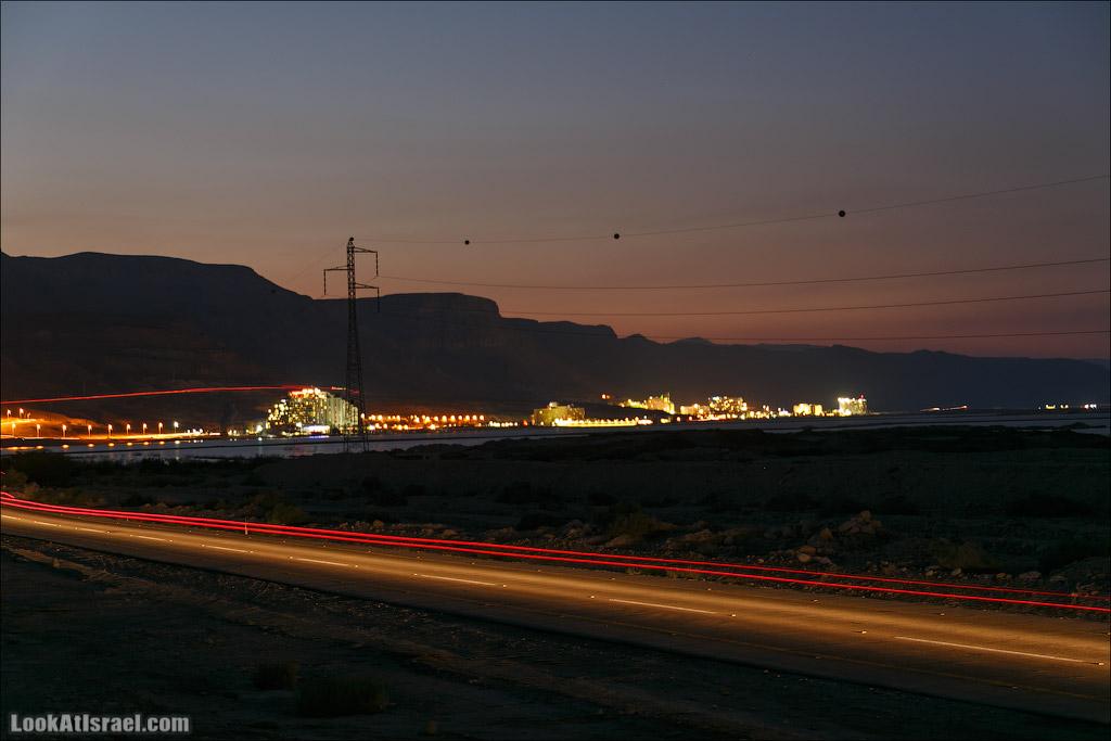 Мертвое море ночью | LookAtIsrael.com - Фото путешествия по Израилю