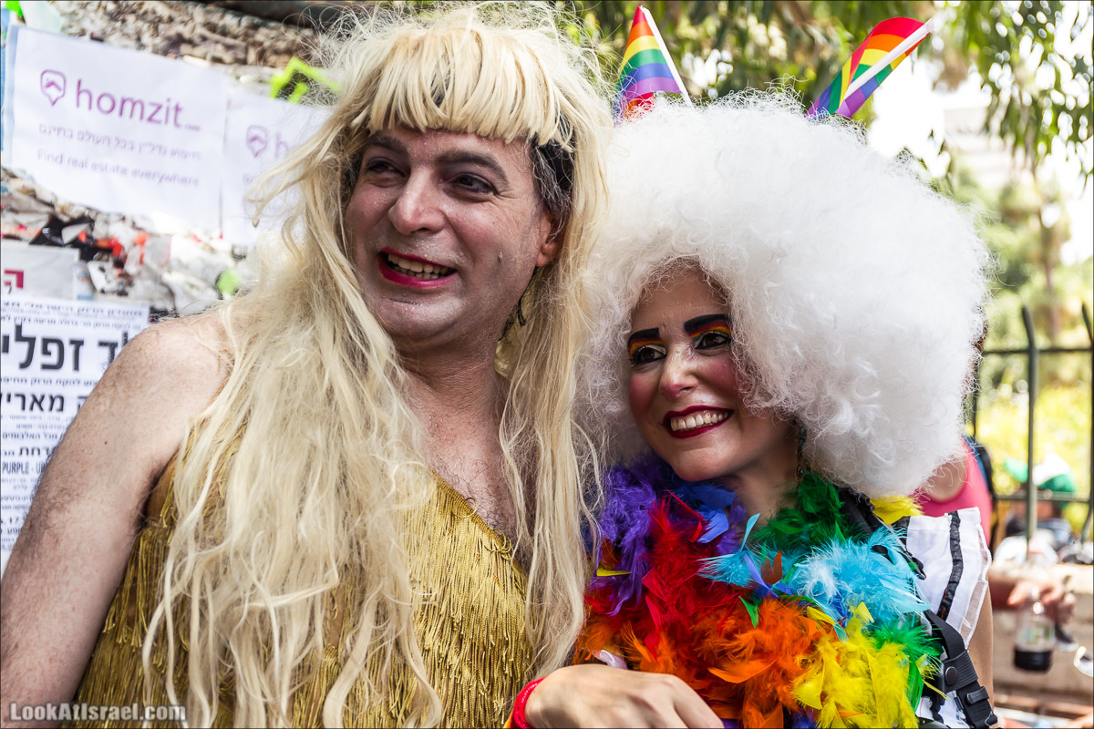Парад Гордости 2017 в Тель-Авиве | Tel Aviv pride 2017 | מצעד הגאווה 2017 | LookAtIsrael.com - Фото путешествия по Израилю