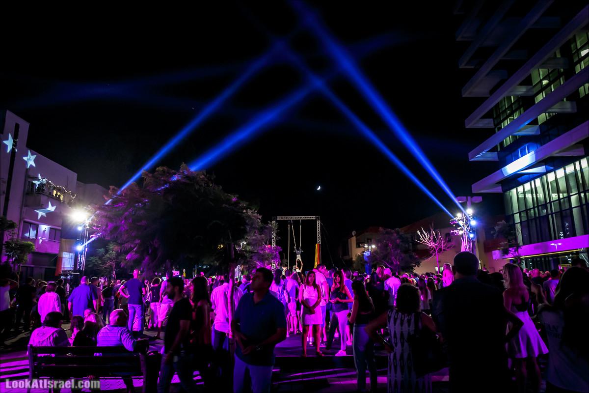Тель-Авив, Белая ночь 2017 | Tel Aviv White Night 2017 | לילה לבן תל אביב 2017 | LookAtIsrael.com - Фото путешествия по Израилю