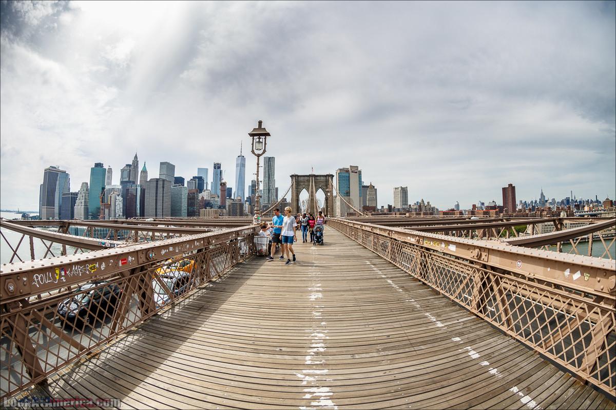 Прогулка по Манхеттену   LookAtAmerica.com - Большое Американское путешествие LookAtIsrael.com
