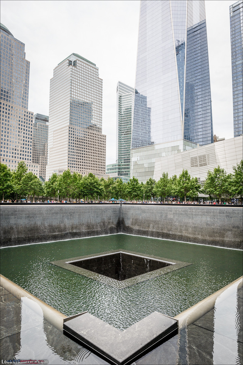 Мемориал 9/11 | LookAtAmerica.com - Большое Американское путешествие LookAtIsrael.com